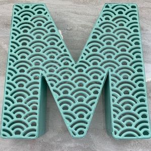 """""""M"""" wall decal"""